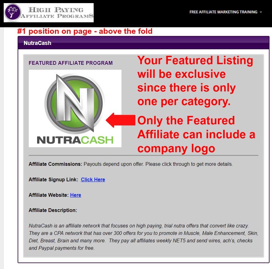 Get paid affiliate pay per lick that