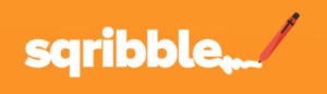 sqribble orange logo