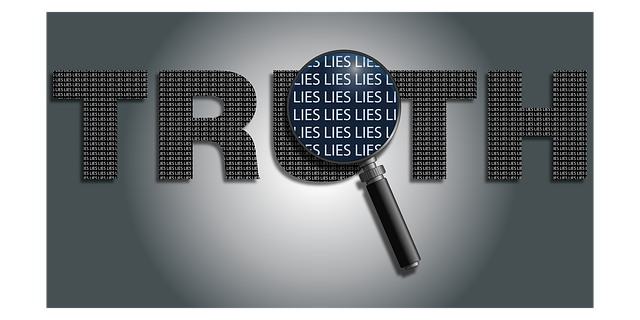 truth vs lies image