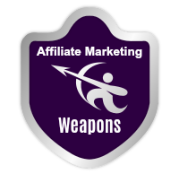 affiliate marketing weapons shield logo