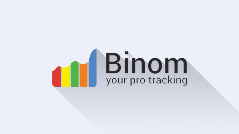 Binom pro tracking logo image