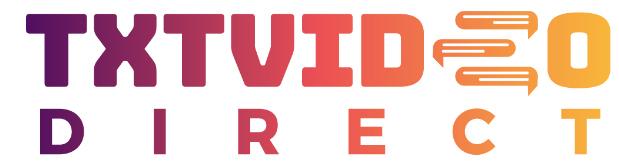 TXTVideo logo image