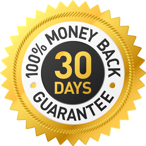 money back guarantee seal image