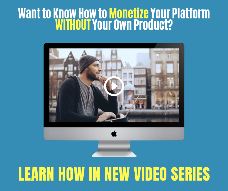 no product no problem monetization video image