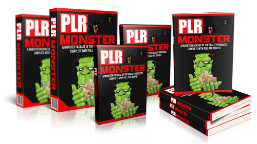 PLR monster package image