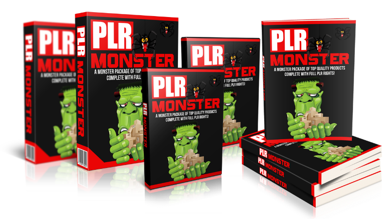 large monster plr package