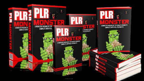 PLR ebooks monster image