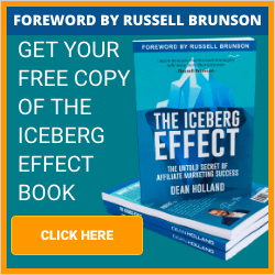 iceberg effect affiliate marketing book