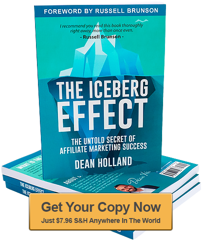 the iceberg effect by Dean Holland book image