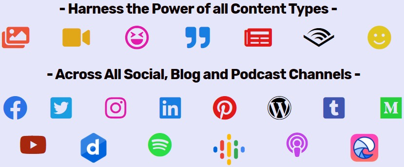 content burger social icons image