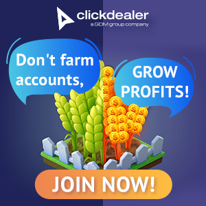 Clickdealer affiliate program logo