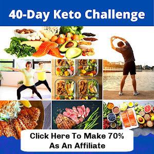 40-Day Keto Challenge affiliate program image